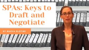 SPAs: Keys to draft and negotiate