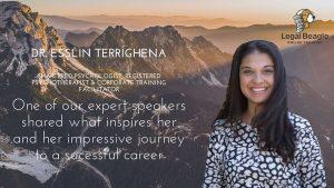 Dr. Esslin Terrighena – Registered Psychotherapist & Corporate Trainer