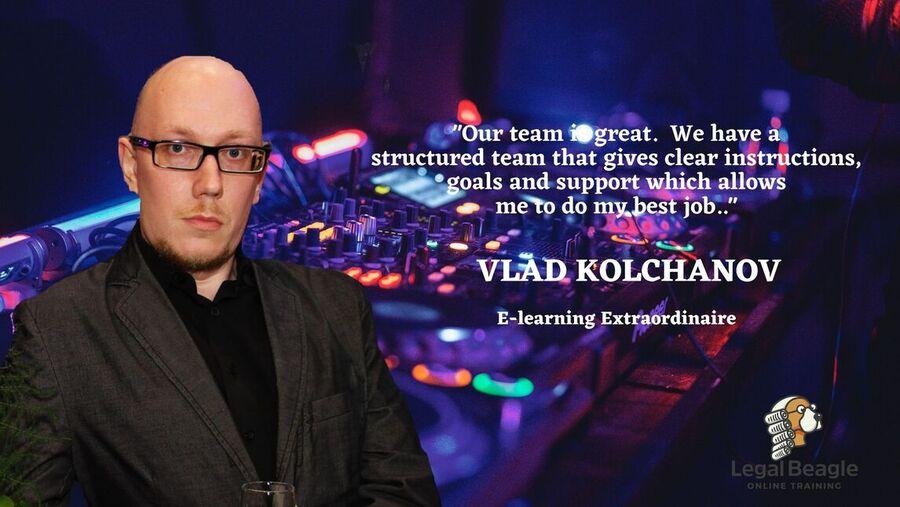 Let's get to know Vlad Kolchanov