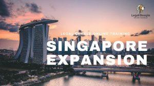 Legal Beagle Online Training Singapore Expansion